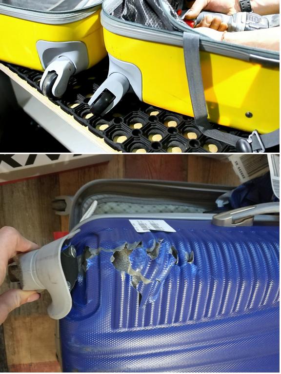 колеса для ремонта чемодана