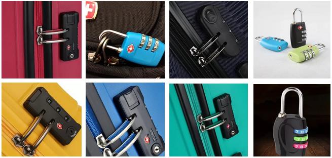 кодовые замки для чемоданов