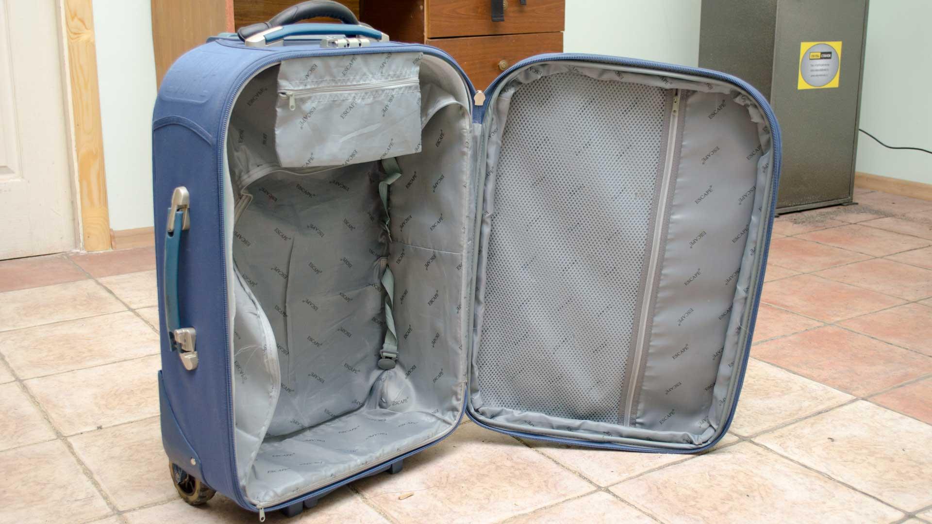 ремонт прокладки чемодана