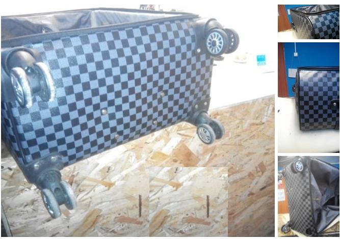 ремонт и замена колес чемодана
