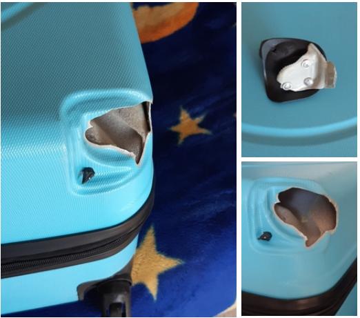 ремонт чемодана в мастерской