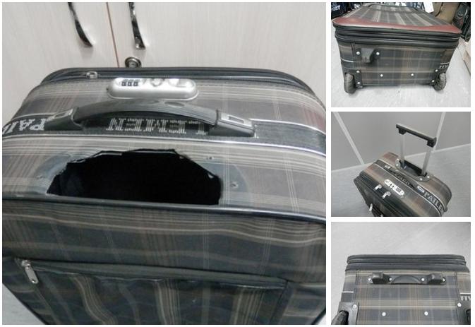 фото до и после восстановления чемодана