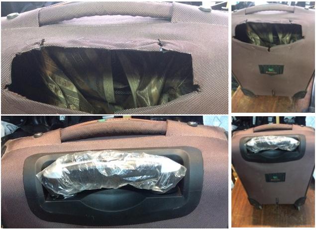 ремонт фурнитуры чемодана
