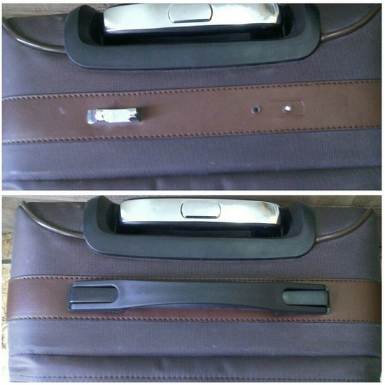 ремонт ручки переноски чемодана