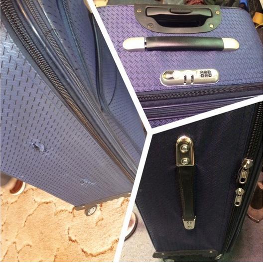 ремонт замков в чемодане