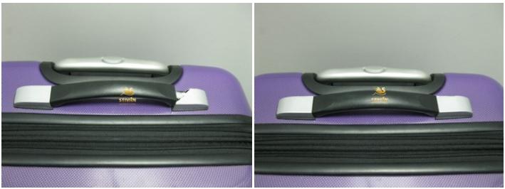 фото до и после ремонта чемодана Dielle