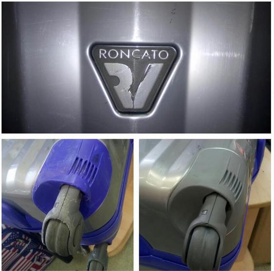 ремонт чемодана Roncato в официальной мастерской